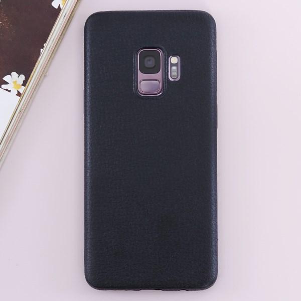 Ốp lưng Galaxy S9 nhựa dẻo TPU case Litchi Grain OSMIA