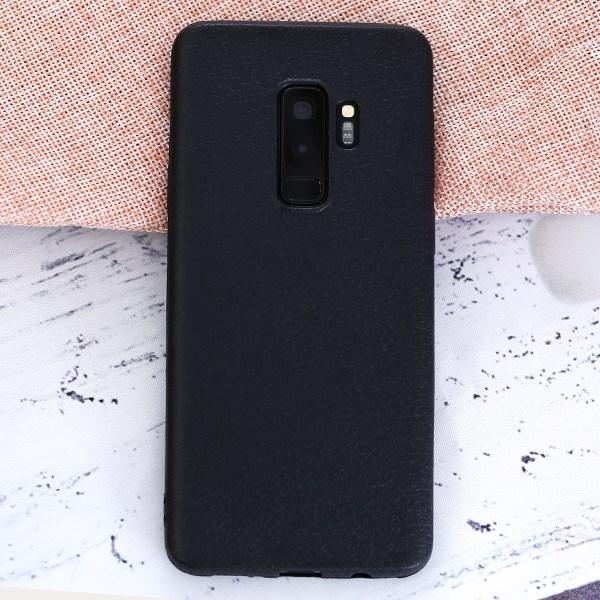 Ốp lưng Galaxy S9 Plus nhựa dẻo TPU case Litchi Grain OSMIA