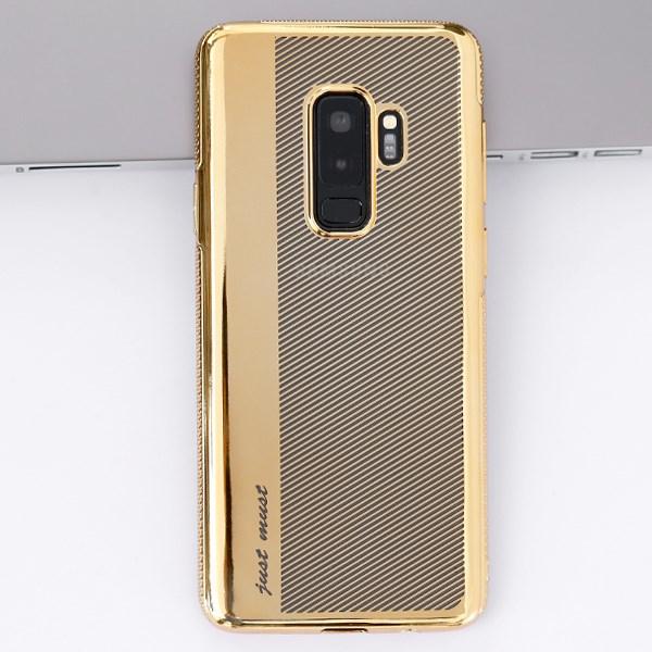 Ốp lưng Galaxy S9 Plus Nhựa dẻo Super JM Gold