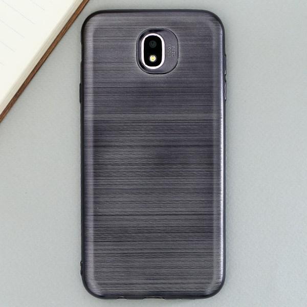 Ốp lưng Galaxy J7 Pro Nhựa dẻo Brush TPU II JM Đen