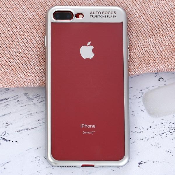Ốp lưng iPhone 7 Plus - 8 Plus Nhựa dẻo Fresh COSANO Bạc