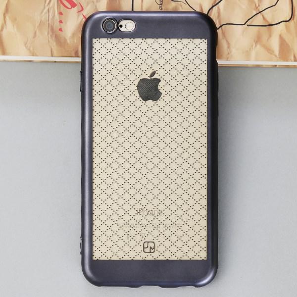 Ốp lưng iPhone 6-6S Nhựa dẻo Noisele JM Đen