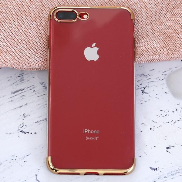 Ốp lưng iPhone 7 Plus/ 8 Plus nhựa dẻo Electroplate T&B OSMIA Gold