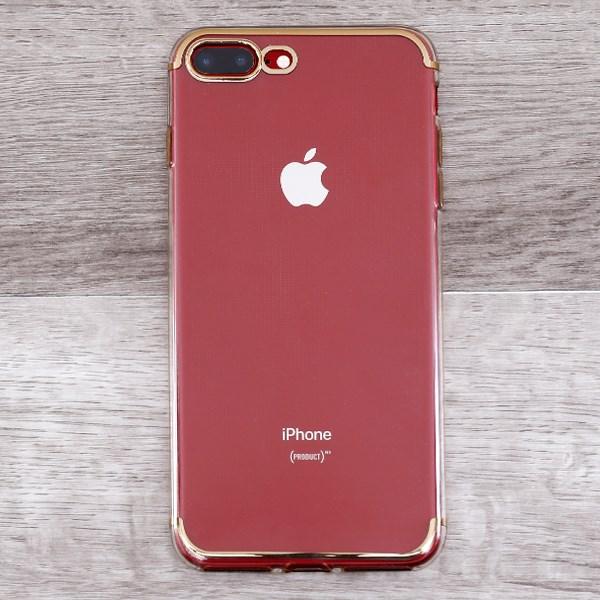 Ốp lưng iPhone 7 Plus - 8 Plus nhựa dẻo TPU Electorplate 2 OSMIA Gold