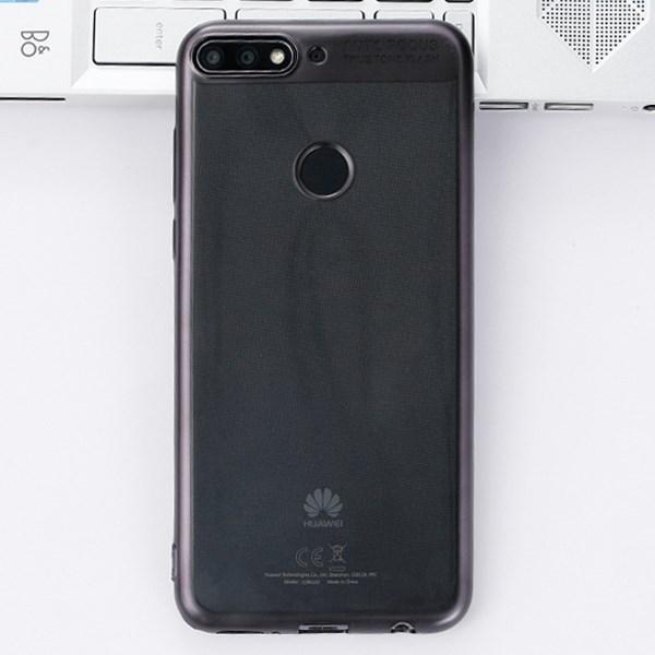 Ốp lưng Huawei Y7 Pro 2018 Nhựa dẻo Fresh COSANO Đen