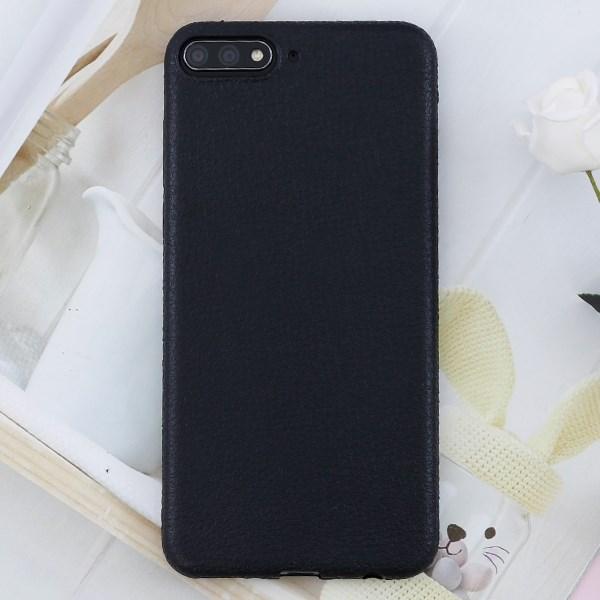 Ốp lưng Huawei Y7 pro 2018 nhựa dẻo TPU Case Litchi Grain OSMIA Đen