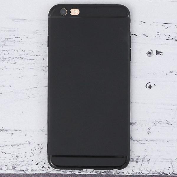 Ốp lưng iPhone 6 Plus - 6S Plus nhựa dẻo Matte Solid TPU OSMIA Đen