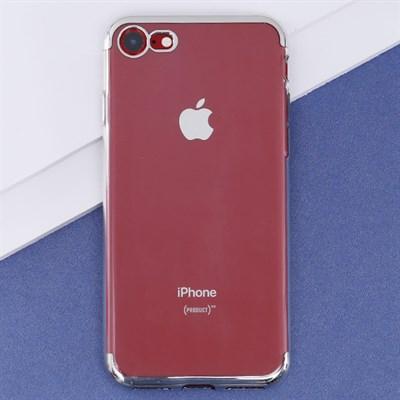 Ốp lưng iPhone 7-8 nhựa dẻo Electroplate T&B OSMIA Bạc