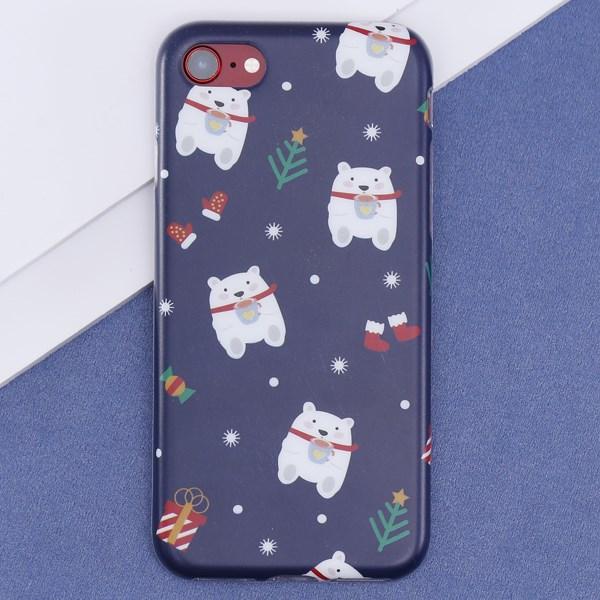 Ốp lưng iPhone 7-8 nhựa dẻo Matte IMD 1.0MM OSMIA CK161030 Xanh Navy