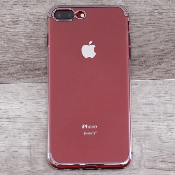 Ốp lưng iPhone 7 Plus - 8 Plus nhựa dẻo TPU Electorplate Case 2 OSMIA Đen