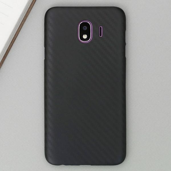 Ốp lưng Galaxy J4 Nhựa Carbon PP JM Đen