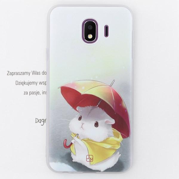 Ốp lưng Galaxy J4 Nhựa dẻo in hình Solid printing II JM Chuột lang