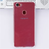 Ốp lưng Oppo F7 Nhựa dẻo Tiny Grained COSANO Nude