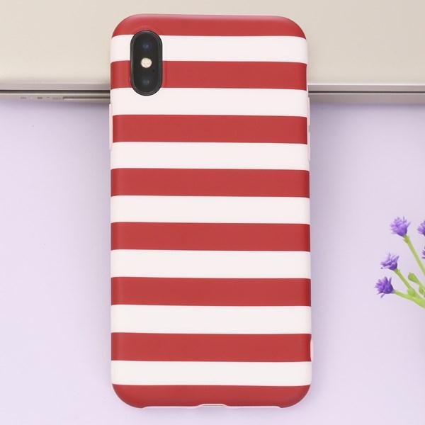 Ốp lưng iPhone X Nhựa dẻo Imd Case OSMIA Đỏ