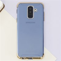 Ốp lưng Galaxy A6 Plus nhựa dẻo Electroplate TPU T&B OSMIA Gold
