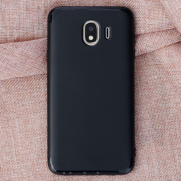 Ốp lưng Galaxy J4 nhựa dẻo Matte solid OSMIA Đen
