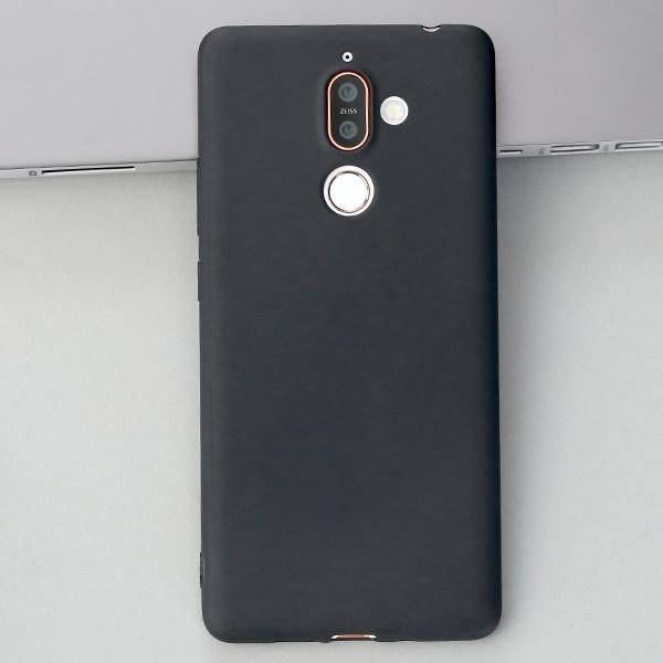 Ốp lưng Nokia 7+ Nhựa dẻo Candy Soft JM Đen