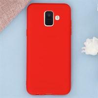 Ốp lưng Galaxy A6 nhựa dẻo Candy Meeker Đỏ