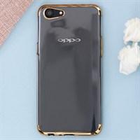 Ốp lưng Oppo A83 nhựa dẻo Electroplate TPU T&B OSMIA Gold