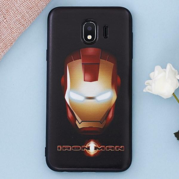 Ốp lưng Galaxy J4 nhựa dẻo UV Printing OSMIA CK-TG142 Iron Man
