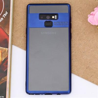 Ốp lưng Note 9 Nhựa dẻo Fresh COSANO xanh navy