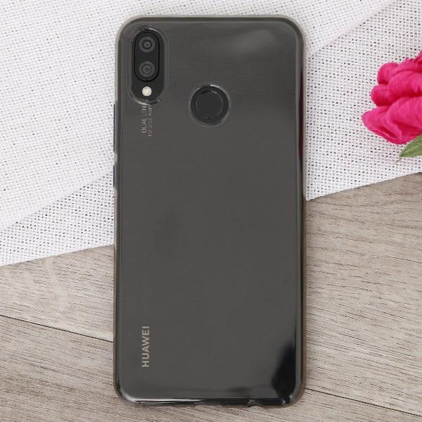 Ốp lưng Huawei 3i Nhựa dẻo Nake Slim JM nude xám