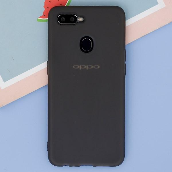 Ốp lưng Oppo F9 Nhựa dẻo Coloris II JM đen