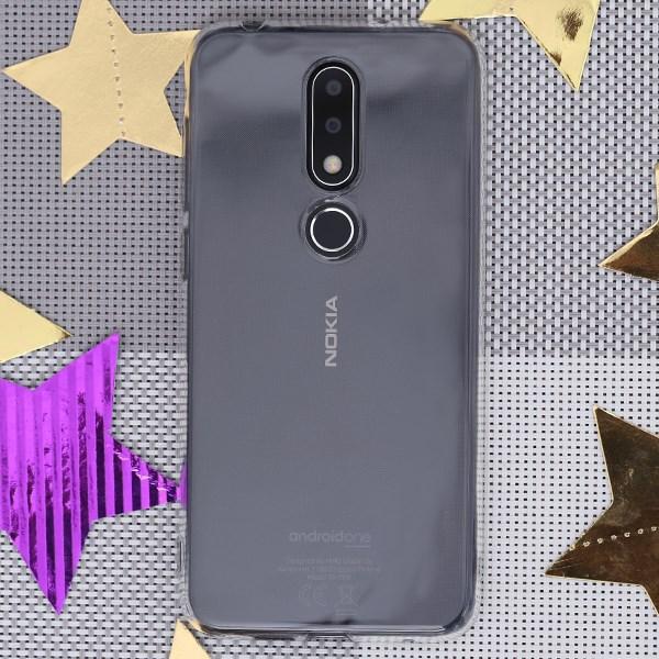 Ốp lưng Nokia 6.1 plus Nhựa dẻo Slim COSANO nude