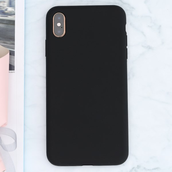Ốp lưng iPhone XS Max Nhựa dẻo Ultra Slim Silicone Case JM đen