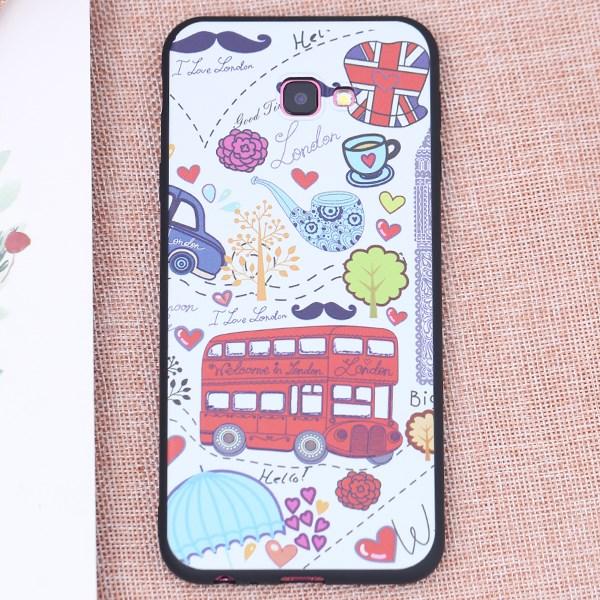 Ốp lưng Galaxy J4 Plus Nhựa dẻo TPU Printing MEEKER TSD12 London