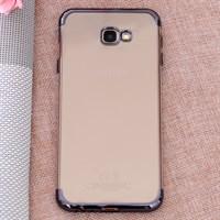 Ốp lưng Galaxy J4+ nhựa dẻo Electroplate T&B OSMIA Đen