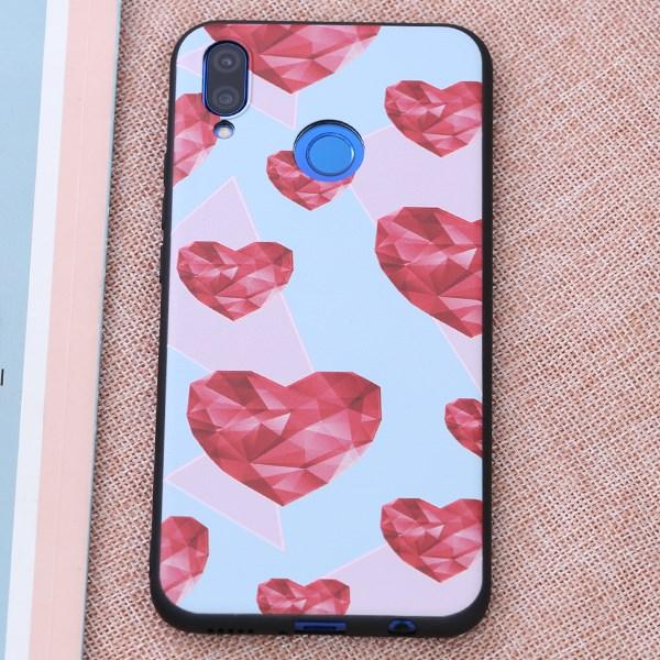 Ốp lưng Huawei 3i Nhựa dẻo TPU PRINTING MEEKER TSQ018 Trái tim