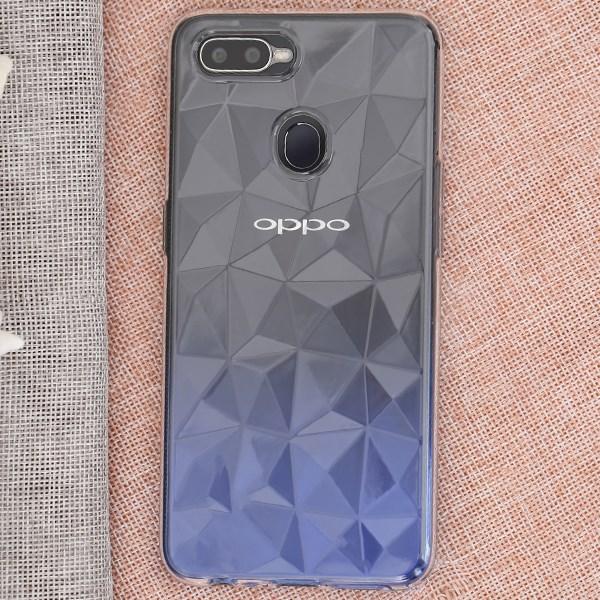 Ốp lưng Oppo F9 nhựa dẻo B-Diamond OSMIA Nude