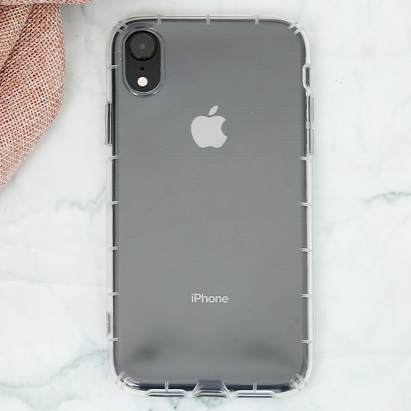 Ốp lưng iPhone XR nhựa dẻo CraSh TPU OSMIA Nude