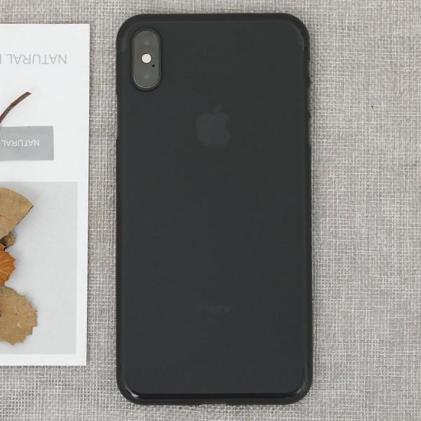 Ốp lưng iPhone XS Max Nhựa cứng Slim PP COSANO xám