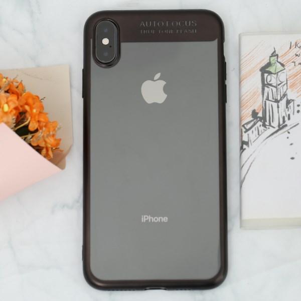 Ốp lưng iPhone XS Max Nhựa dẻo Fresh COSANO đen