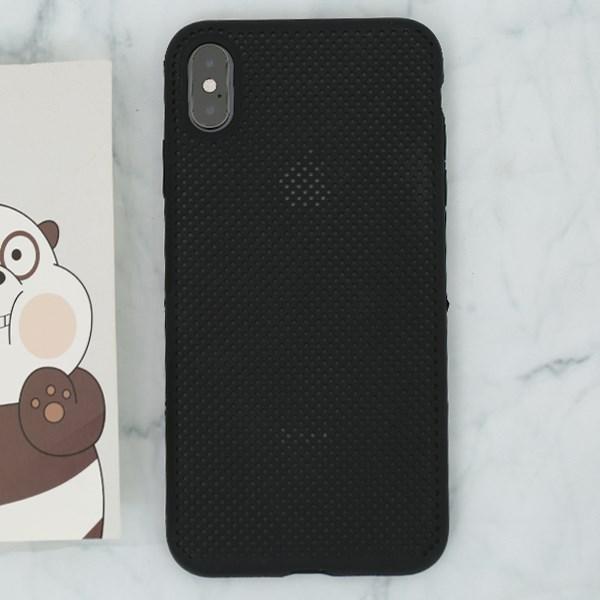 Ốp lưng iPhone XS Max Nhựa dẻo new liquid silicon COSANO đen