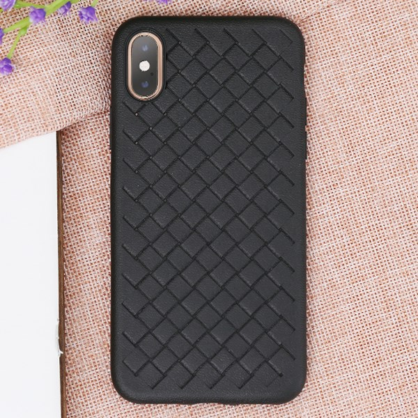Ốp lưng iPhone XS nhựa dẻo New Woven OSMIA Black