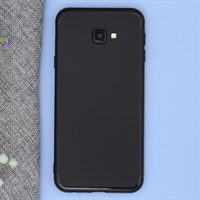 Ốp lưng Galaxy J4+ nhựa dẻo Matte solid OSMIA Đen