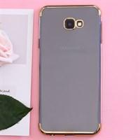 Ốp lưng Galaxy J4+ nhựa dẻo Electroplate T&B OSMIA Gold
