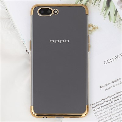 Ốp lưng Oppo A3s nhựa dẻo Electroplate T&B OSMIA Gold