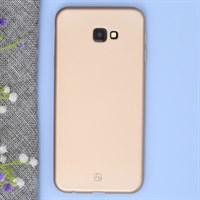 Ốp lưng Galaxy J4+ Nhựa dẻo Lanker X JM Gold
