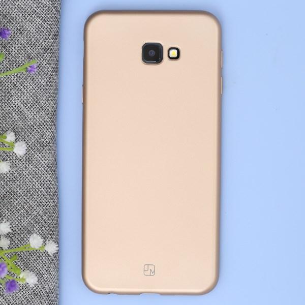 Ốp lưng Galaxy J4 Plus Nhựa dẻo Lanker X JM Gold