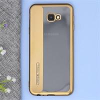 Ốp lưng Galaxy J4+ Nhựa dẻo Tidy Line JM Gold