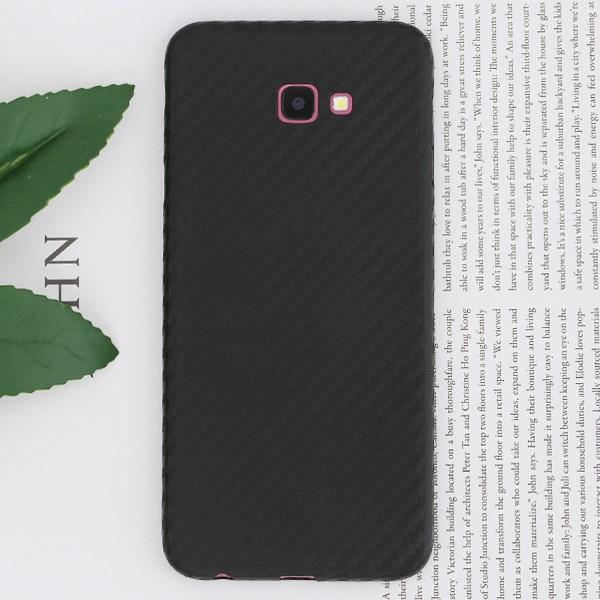 Ốp lưng Galaxy J4+ Nhựa Carbon PP JM đen