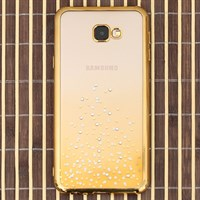 Ốp lưng Galaxy J4+ Nhựa cứng Lpetal JM Gold