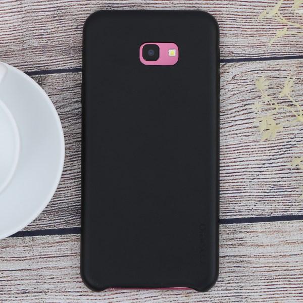 Galaxy J4 Plus Nhựa Skin PU COSANO đen