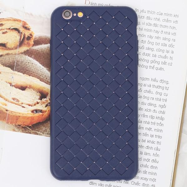Ốp lưng iPhone 6 Plus - 6s Plus nhựa dẻo Woven OSMIA Xanh Navy