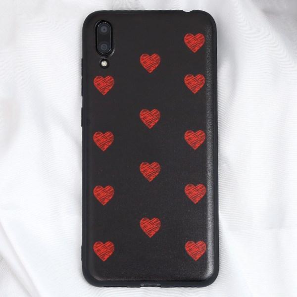 Ốp lưng Huawei Y7 Pro 2019 Nhựa dẻo UV Printing OSMIA Trái tim đỏ