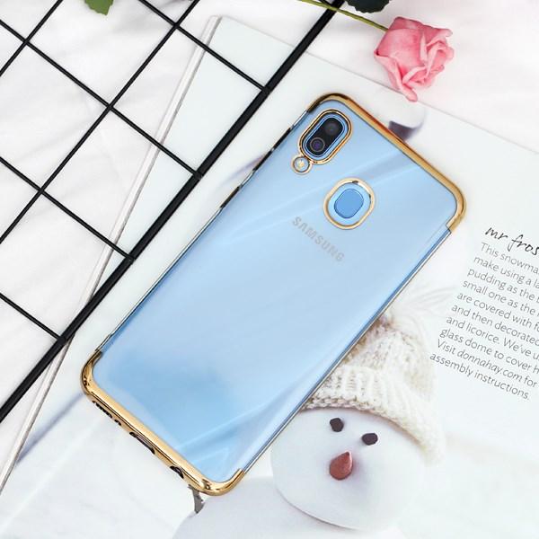 Ốp lưng Galaxy A30 Nhựa dẻo Electroplate T&B OSMIA Gold